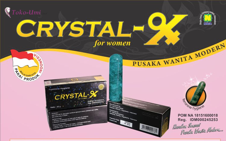 Crystal X Obat Herbal Organ Intim Kewanitaan